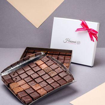 Coffret Gourmand - 84 Chocolats - Noir et Lait