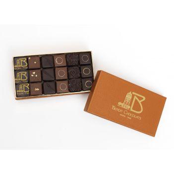 Coffret Délices Assortiment de chocolats noirs (260g)
