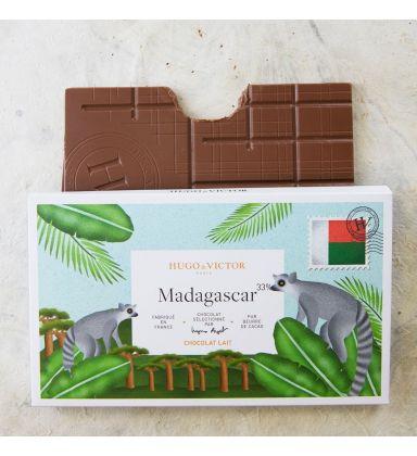 Tablette Madagascar 33% Lait sans lécithine de soja