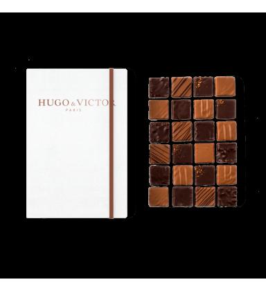 Carnet de 24 Carrés Chocolat
