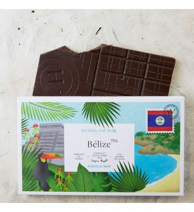 Tablette Belize 75% Noir sans lécithine
