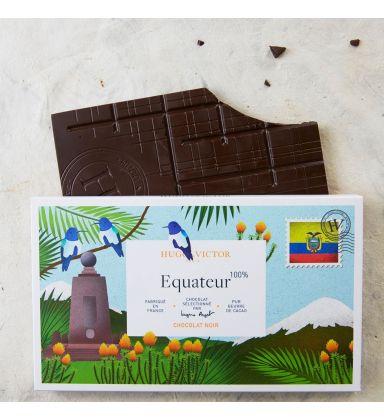 Tablette Équateur 100% Noir sans lécithine