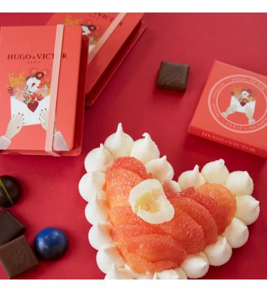 Carnet Lettre d'Amour (Saint-Valentin) 6 Chocolats